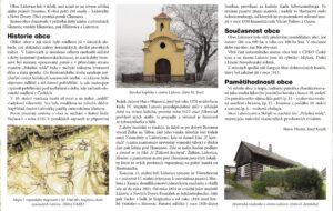 Text infotabule obce Lážovice - bod 24.